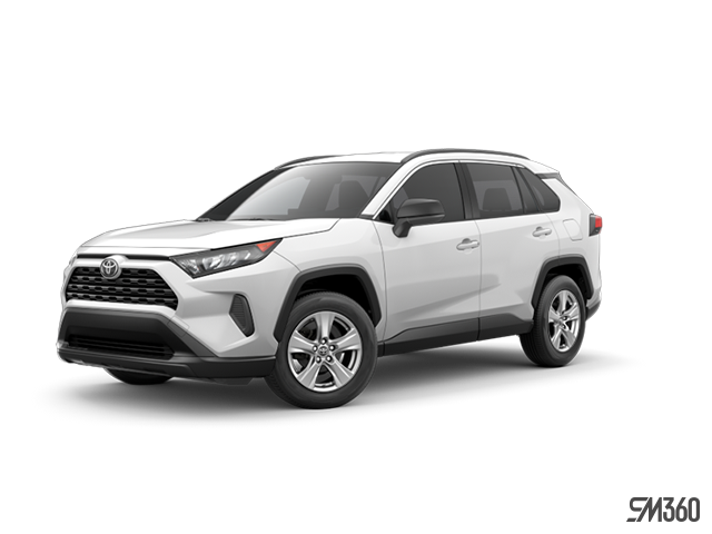 2019 Toyota RAV4 AWD LE WITH BO0KS