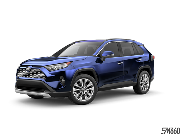 2019 Toyota RAV4 AWD LIMITED WITH BOOKS