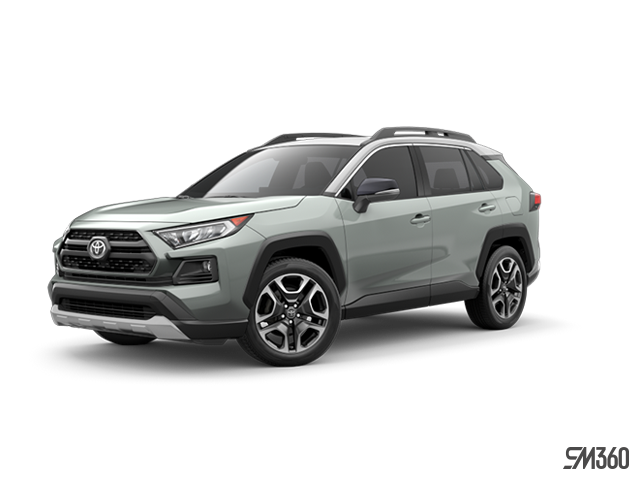 2019 Toyota RAV4 AWD TRAIL WITH BOOKS