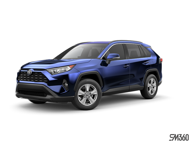 2019 Toyota RAV4 XLE FWD WITH BOOKS