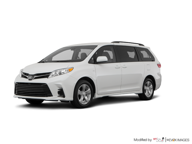 2019 Toyota SIENNA LE V6 8-PASS 8A WITH BOOKS + EXTRA KEY