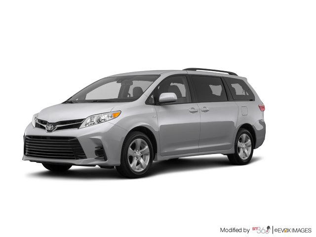 2019 Toyota SIENNA LE FWD 8-PASS WITH BOOKS + EXTRA KEY