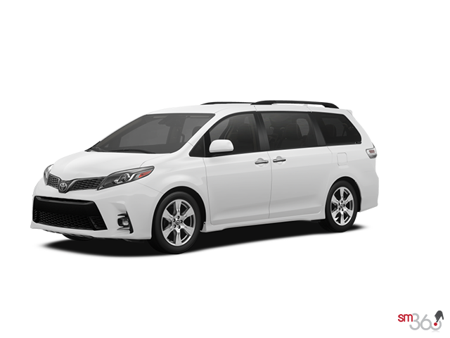 2019 Toyota SIENNA SE V6 8-PASS 8A WITH BOOKS + EXTRA KEY