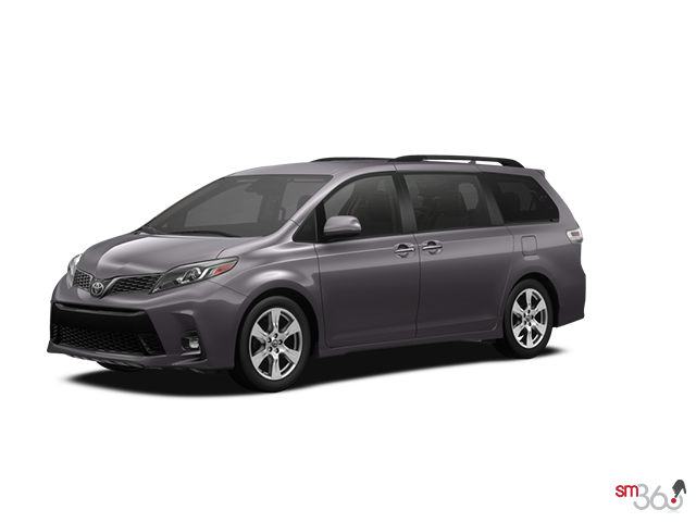 2019 Toyota SIENNA SE V6 8-PASS 8A WITH BOOKS +EXTRA KEY/NO CARPET MATS