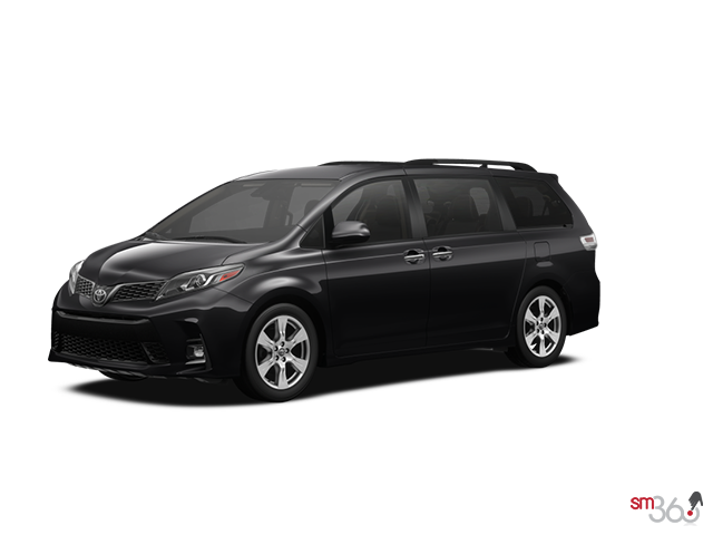 2019 Toyota SIENNA SE FWD 8-PASS WITH BOOKS + EXTRA KEY