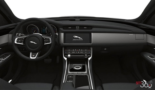 2020 Jaguar XF 30t 2.0L AWD Checkered Flag - Interior
