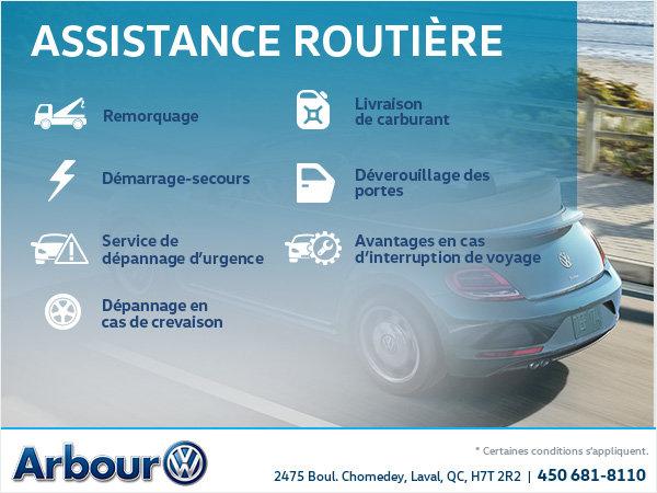 Assistance routière Volkswagen