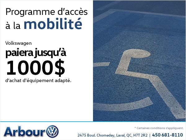 Programme d'accès à la mobilité Volkswagen