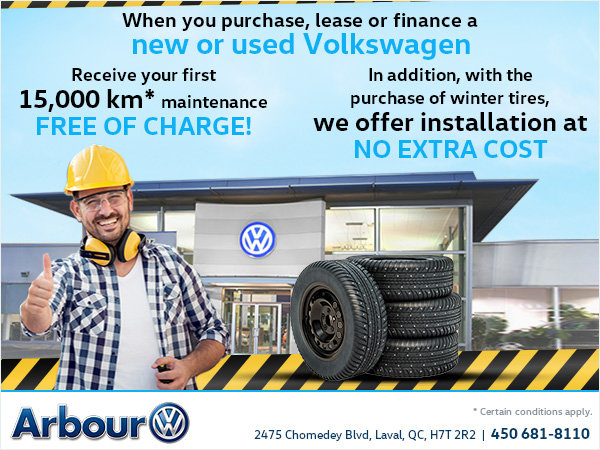 Maintenance and Tire Offer