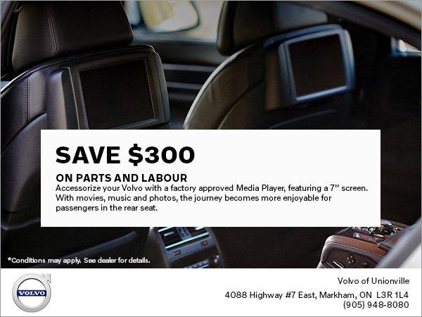 Genuine Volvo Media Player Special