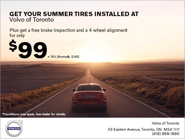 Summer Tire Offer