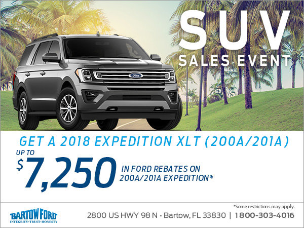 Get a 2018 Ford Expedition!