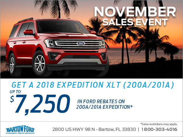 Get the 2018 Ford Expedition!