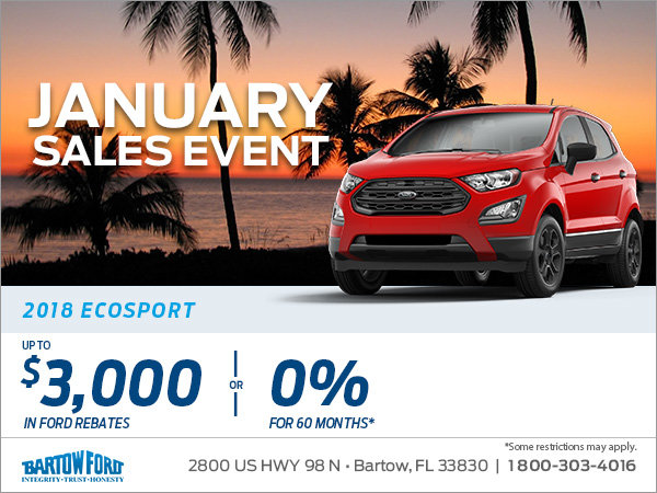 Get the 2018 Ford EcoSport!