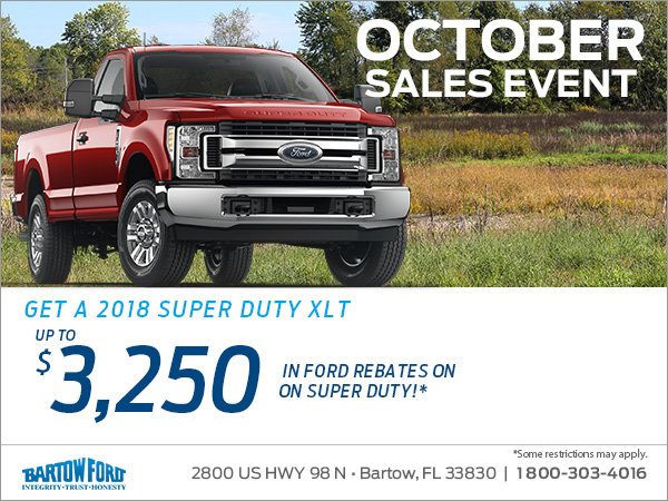 Get the 2018 Ford Super Duty!
