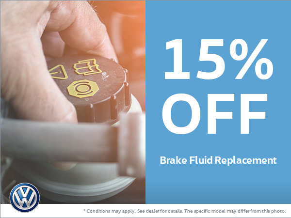 Get 15% Off Your Brake Fluid Replacement!