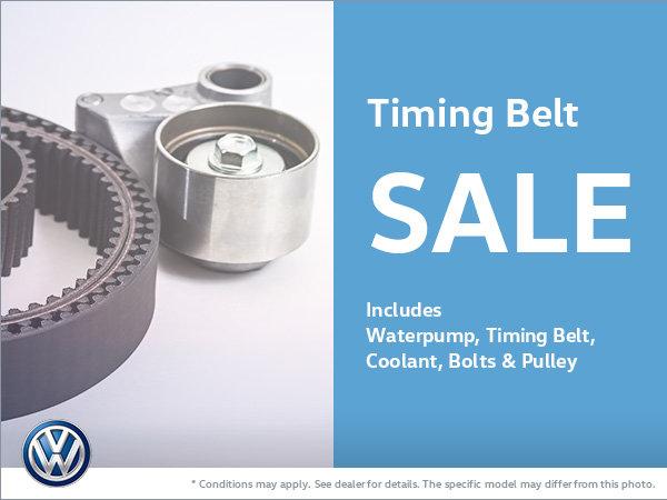 Timing Belt Sale!