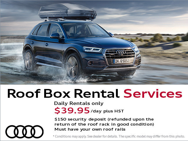 Roof Box Rental Services