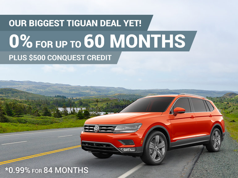 Our Biggest Tiguan Deal Yet