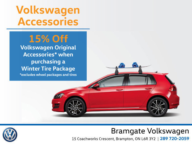 15% Off Genuine Volkswagen Accessories