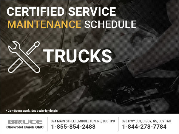 GM Trucks - Warranty Maintenance Packages