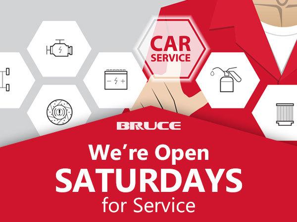 Open Saturdays for Service
