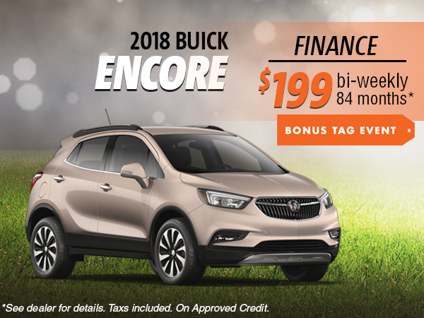 Finance the 2018 Buick Encore