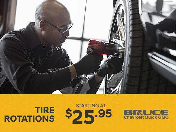 Tire Rotations from $25.95
