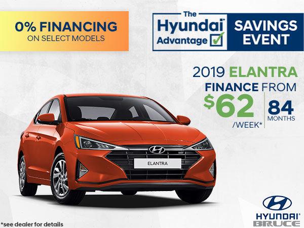 Finance the 2019 Hyundai Elantra