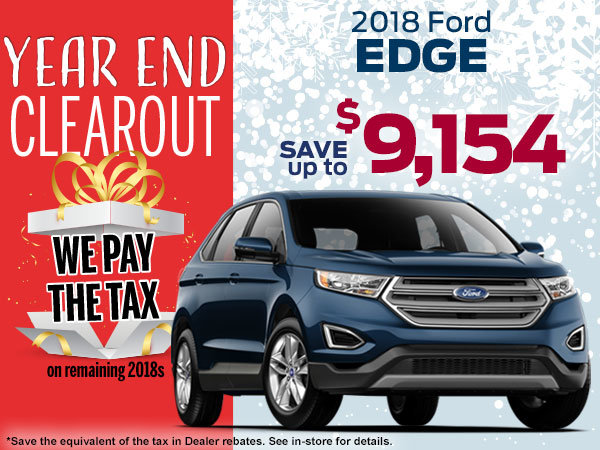 Save Up To  Ford Edge