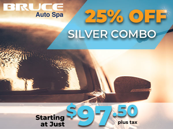 Clean Car = Warm Heart! 25% off Silver Combo at our Auto Spa