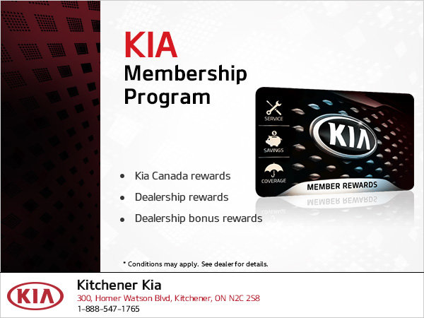 Kia Membership Program