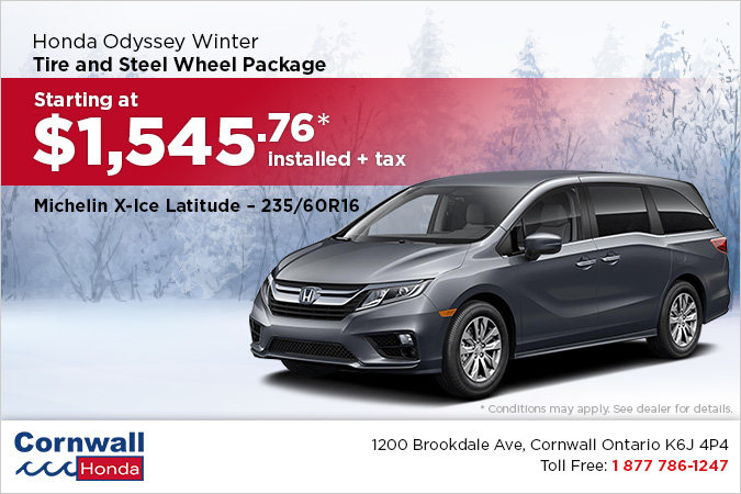 Get Your Odyssey Winter Ready!