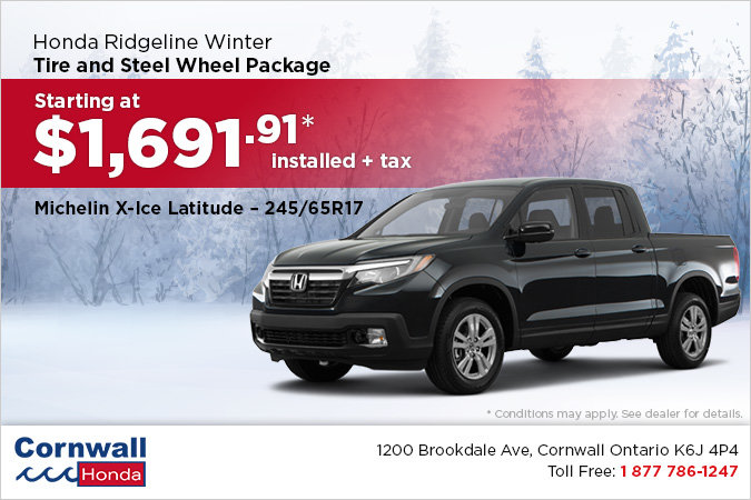 Get Your Ridgeline Winter Ready!