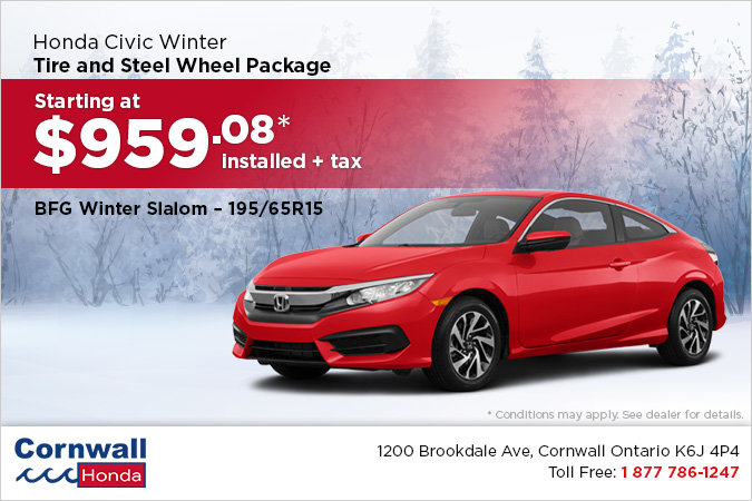 Get Your Civic Winter Ready!