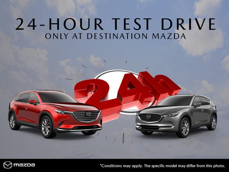 24 Hour Test Drive!