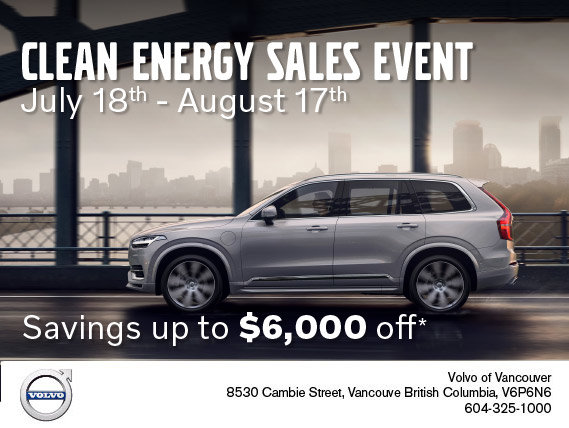 Clean Energy Sales Event