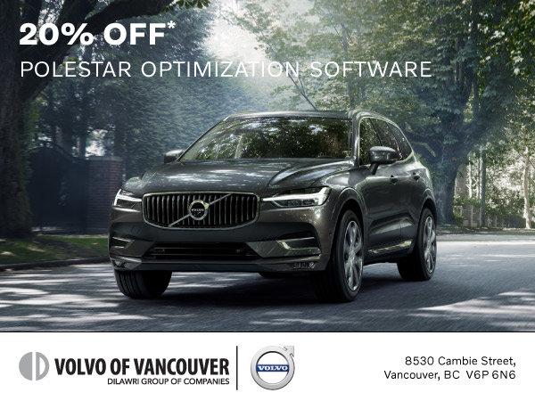 20% Off Polestar Optimization Software