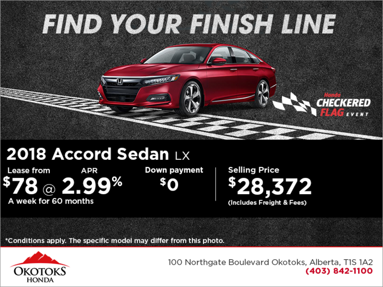 Get the 2018 Honda Accord Sedan Today!
