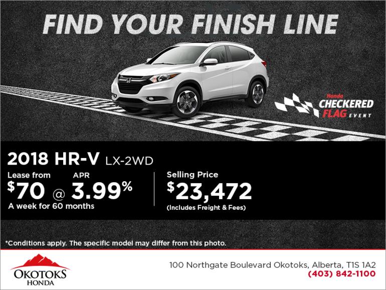 Get the 2018 Honda HR-V Today!