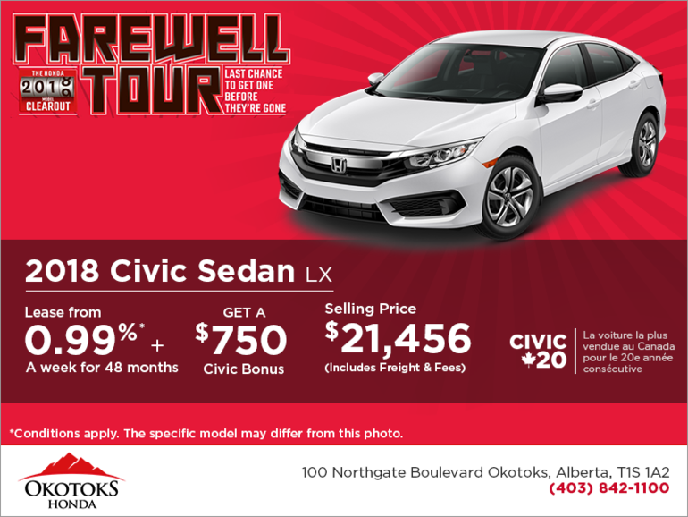 Get 2018 Honda Civic Sedan Today!