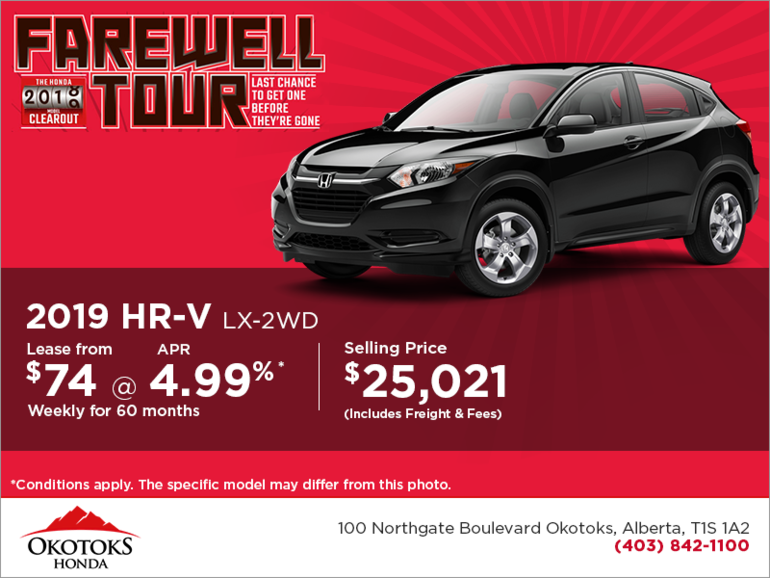 Get the 2019 Honda HR-V Today!