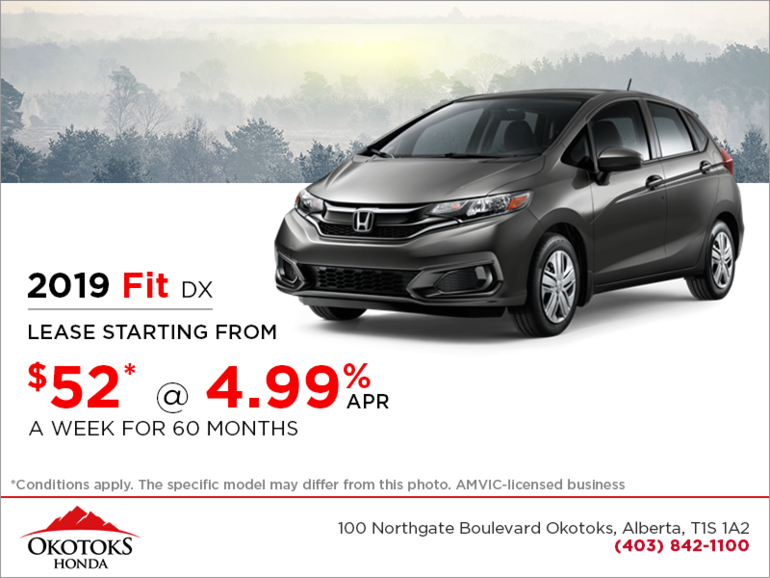 Get the 2019 Honda Fit Today!
