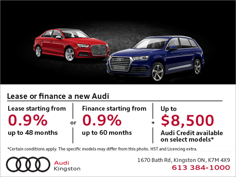 Audi Monthly Sales event!