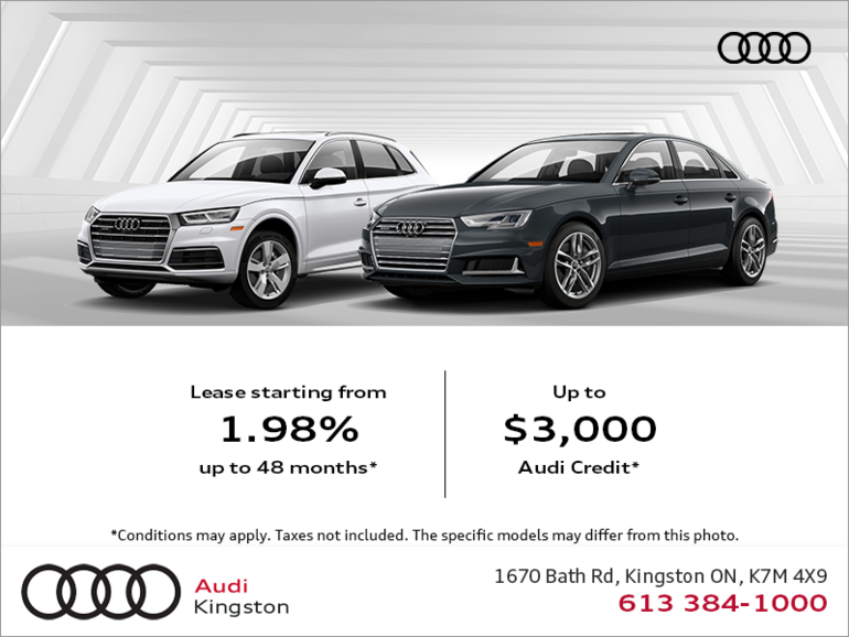 The Summer of Audi Sales Event.