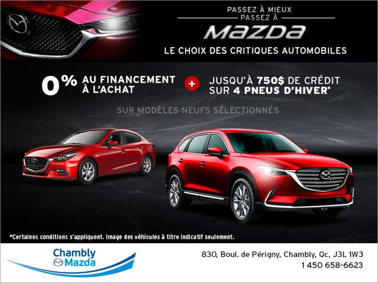 Passez à mieux, passez à Mazda