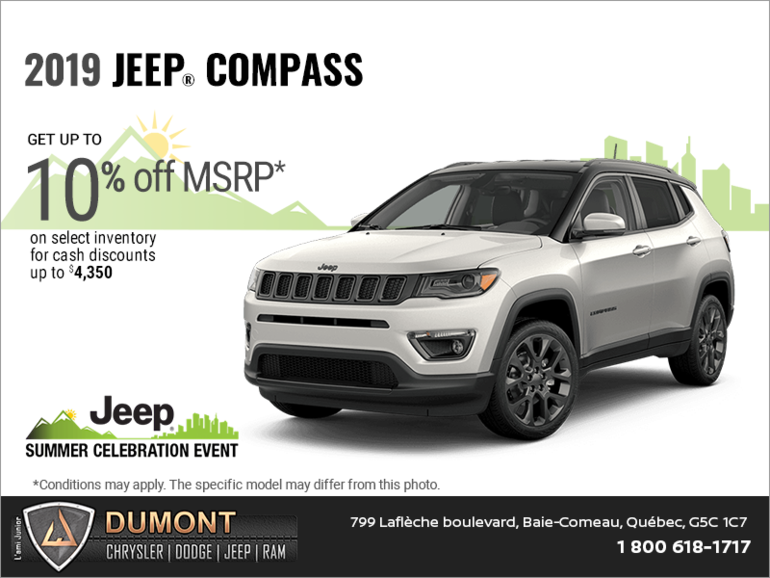 Get the 2019 Jeep Compass!
