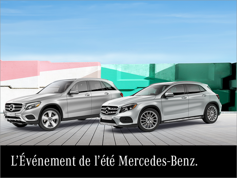 L'événement estival Mercedes-Benz.