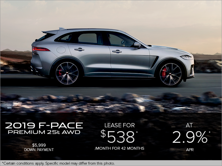 The 2019 Jaguar F-PACE Premium 25t AWD