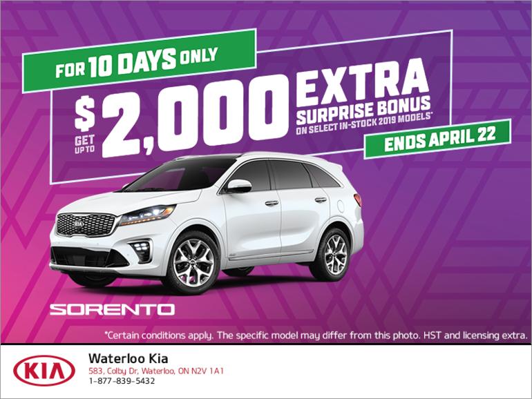 The Kia 10 Day Sale!